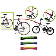 The Trail Gator Bicycle Tow Bar Converts An Ordinary Child S Bike