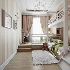 "Велюр - фото 18 от ""MARTIN Arhitects"" - oselya.ua Best Interior Paint, Interior Paint Colors, Wooden Flooring, Oversized Mirror, Kids Room, Curtains, Bedroom, Furniture, Design"