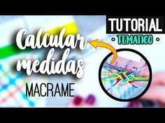 Tips para calcular medidas de hilos ♥︎ macrame tutorial   diy ● Basic - YouTube