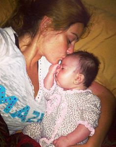 JWoww kisses her daughter Meilani's forehead in new pictures she posted on Instagram!