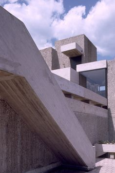 Art & Architecture Building (Rudolph Hall), Yale University, New Haven, Connecticut, 1963  (Paul Rudolph)