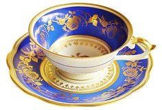 Bavarian Demitasse Cup & Saucer
