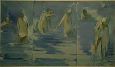 Aguayo, Les grandes baigneuses, Óleo/ Lienzo o tela, 1967.