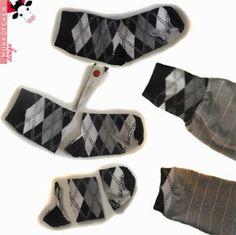 MUHKÜFCHEN design: Socken-Recycling