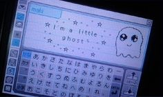 blue, ghost, and kawaii image #pictochat