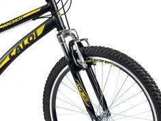 Bicicleta Caloi Andes Aro 26 21 Marcas - Suspensão Dianteira Freio V-brake com as melhores condições você encontra no Magazine Dufrom. Confira!