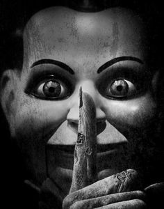 Billy, the ventriloquist doll... 'Dead Silence', 2007 directed by James Wan.