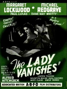 """""""The Lady Vanishes"""" (1938) by Alfred Hitchcock"""