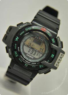 Casio Women's Daily Alarm Digital Watch – Fine Jewelry & Collectibles Retro Watches, G Shock Watches, Casio G Shock, Sport Watches, Watches For Men, G Shock Mudmaster, Gentleman Watch, Best Watch Brands, Nerd Chic