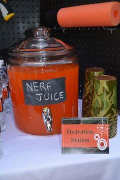"""Sunkist """"NERF juice"""""""