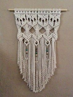 Outdoor Decor Garden Art Boho Decor Hippie Decor Macrame