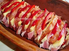 Hot Dogs, Sushi, Sausage, Steak, Bacon, Breakfast, Ethnic Recipes, Food, Workout