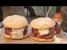 Beer Can Bacon Burgers by the BBQ Pit Boys - YouTube
