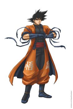 Goku concept by Geofffffff on DeviantArt Dragon Ball Z, New Dragon, Goku E Naruto, Dragonball Anime, Thanos Avengers, Broly Movie, Super Anime, Superhero Design, Fan Art