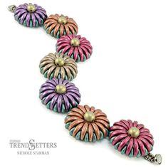 chrysanthemum bracelet free pdf ~ Seed Bead Tutorials