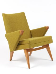 Anonymous; Armchair by Parker Knoll, c1950.