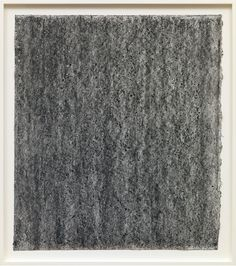 Richard Serra Ramble 4-16, 2015 Litho crayon and pastel powder on paper 35 × 30 3/4 inches unframed (88.9 × 78.1 cm)
