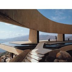 The grand Arango residence by architect John Lautner. I dedicated a post to him today because he blows my mind. #canimovein #brooketestoni.com