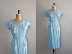 vintage 1950s Flatter Your Charms dress