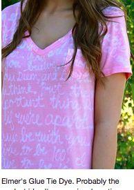 make bridesmaid shirts...