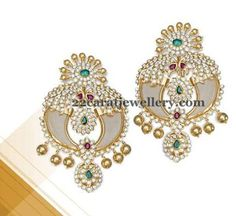 Jewellery Designs: Unique South Pearl Set by JCS Diamond Jewelry, Gold Jewelry, Beaded Jewelry, Jewelery, Indian Jewellery Design, Jewelry Design, 22 Carat Gold, Pearl Set, Pendant Design
