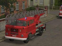 IFA W 50 Feuerwehr DL 30 mit Tauschtextur. Ab #EEP8 http://j.mp/IFA-W-50-Feuerwehr