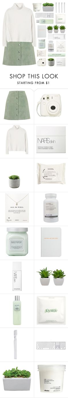 """""""☼ organic + tag"""" by leave-the-lights-on ❤ liked on Polyvore featuring Topshop, Fujifilm, Rebecca Taylor, NARS Cosmetics, H&M, Dogeared, Murad, Laura Mercier, Archie Grand and La Mer"""