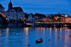 Basel, Switzerland. So many memories. Got a wee bit bored after a few weeks but I really loved it.