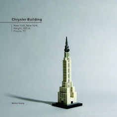 Chrysler Building Lego Skyscraper, Lego Architecture, Chrysler Building, Skyscrapers, Legos, Buildings, Projects To Try, Lego, Skyscraper