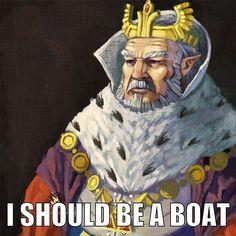 Daphnes Nohansen Hyrule wish - I should be a boat HAHAHAHAHA