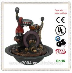 waterwheel interior fountain african woman figurine, View african woman figurine, aroma Product Details from Xiamen Aroma Trade Co., Limited on Alibaba.com