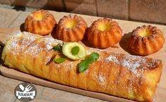 Citromos szelet és muffín Sushi, Muffins, Pumpkin, Sweets, Vegetables, Ethnic Recipes, Christmas, Food, Hungary