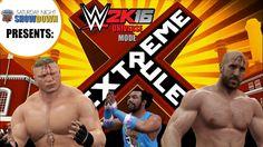 SGU Showdown (WWE 2K16 Universe Mode/PS4) - EP6 (EXTREME RULES PPV!)