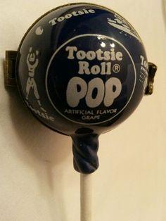 1998 PHB Midwest Cannon Falls Tootsie Roll Pop hinged trinket box