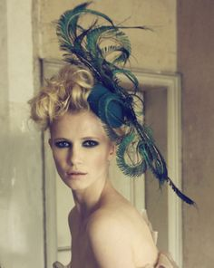 I need a fascinator for my costume. This would be beautiful in white