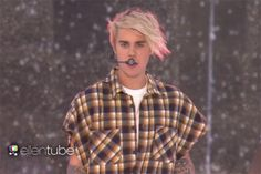 WATCH: Justin Bieber Celebrates Release of 'Purpose' with Outdoor 'Ellen Show' Concert