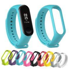 ALANGDUO Replacement Straps For Original Xiaomi mi band 3 Silicone Wristbands Smart Band Replace Accessories For Xiao Mi Band 3 Sleep Band, Watch Photo, Silicone Bracelets, Jewelry Findings, Watch Bands, Electronics Gadgets, Tech Gadgets, Mobile Security, Accessories