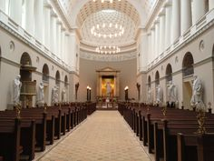The Copenhagen cathedral, best known as Vor Frue Church, is stunning. The architeture is simple, but this is also what makes it unique. Imagine Scandinavian design and simplicity in a church.