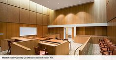 western courtroom interior design - Google Search