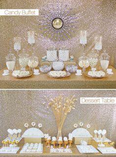 Candy Buffets vs. Dessert Tables — dessert table !!