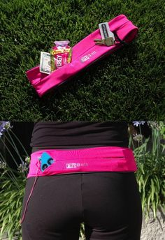 Problem Solved!  Holds your phone, cards, keys, and more while you workout, go running, or do yoga! | FlipBelt | Click to get one or check out the reviews!