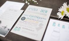 custom rustic wedding invitations with madlib RSVP by LittleMissMrs, $2.00