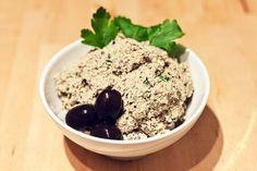 Oliven-Haselnuss-Aufstrich #aufstrich #ausprobieren  statt Tofu Frischkäse nehmen
