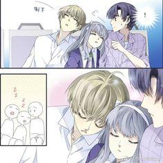 Lan Chi, Blue Wings, Loneliness, Webtoon, Manhwa, Chibi, Anime Art, Kawaii, Couples
