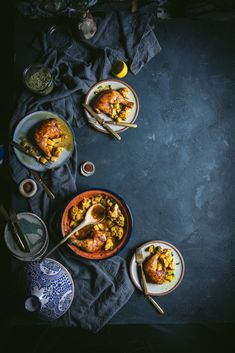 One Pot Meal Moroccan Chicken https://adventuresincooking.com/one-pot-meal-moroccan-chicken/