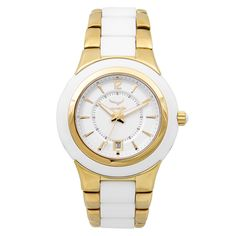 Aquaswiss Unisex, Gold,, and Stainless Steel Quartz Watch