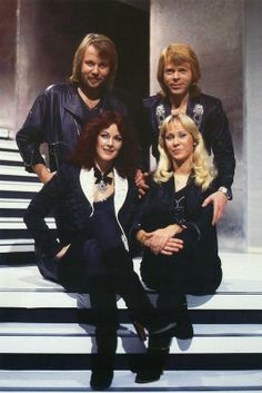 Pics of all 4 together - Seite 2 | www.abba4ever.com