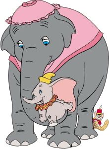 Animated Mother's Day Clip Art | disney s dumbo the elephant with mom mrs jumbo clipart image picture