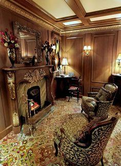 First Class Smoking Room, Titanic #liverpool #ireland #newyork #titanic #iceberg #haunting #deadlive #ghosts #survived www.deadlive.co.uk