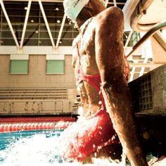 I miss being a swimmer